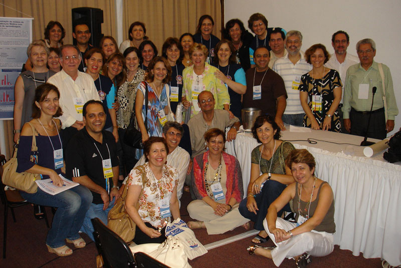 Brazil-FAIMER Regional Institute Fellows and Faculty at the 2008 Brazilian Medical Education Congress