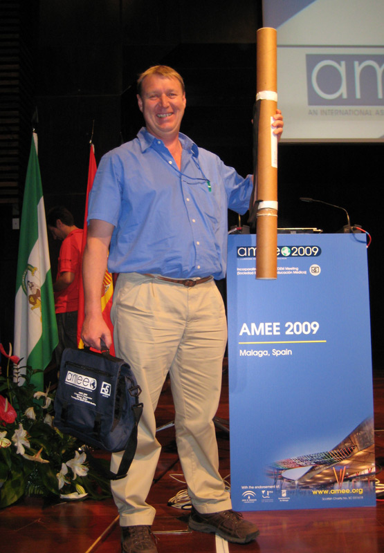 SAFRI Fellow Alwyn Louw at AMEE 2009
