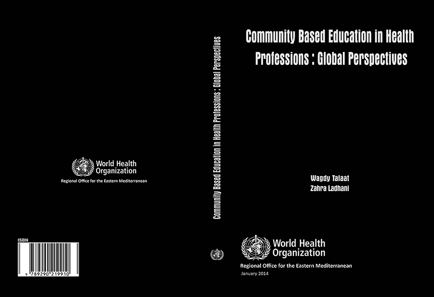 cover of Community Based Education in Health Professions: Global Perspectives book
