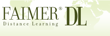 FAIMER Distance Learning logo