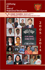 book commemorating the 10th anniversary of the GSMC-FAIMER Regional Institute