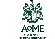 Academy of Medical Educators (AoME) logo