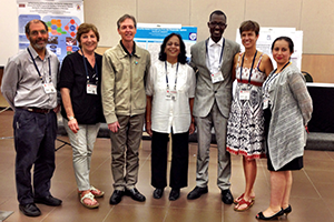 Winners of the 2014 Projects That Work competition at the 2014 conference of The Network: Towards Unity for Health