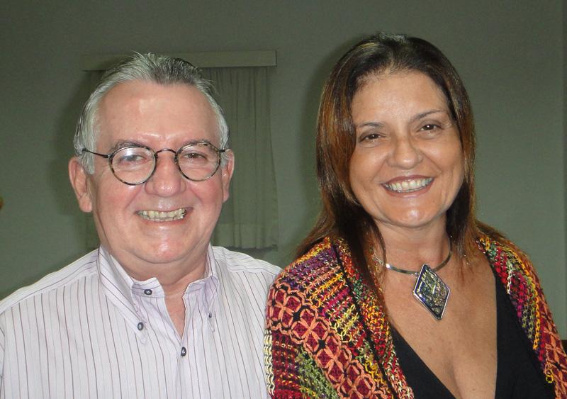 Brazil-FAIMER Regional Institute Co-Director Henry Campos and Regina Maria Lugarinho da Fonseca
