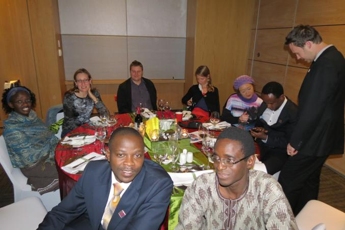 Attendees of the five-year anniversary dinner of the Southern Africa-FAIMER Regional Institute