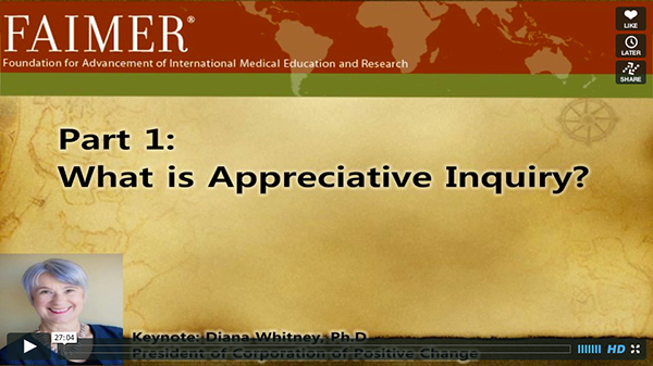 IME Day 2013: Appreciative Inquiry