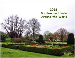 2018 Gardens and Parks Around the World Calendar